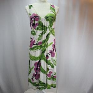 Karen Kane Floral Sleeveless Stretch Dress Med